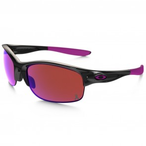 Oakley Women's Commit SQ Breast Cancer Sunglasses - Polished Black/G30 Iridium