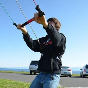 Ocean Rodeo React Trainer Kite with Harness