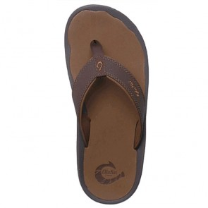 OluKai 'Ohana Sandals - Dark Java/Ray