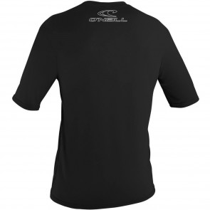 O'Neill Wetsuits Basic Skins Rash Tee - Black