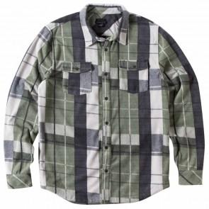 O'Neill Glacier Flannel Shirt - Army Green