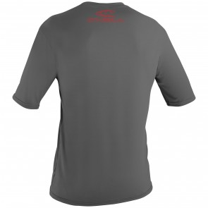 O'Neill Youth Basic Skins Short Sleeve Surf Tee - Graphite