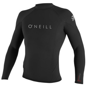 O'Neill Wetsuits HyperFreak 1.5mm Long Sleeve Crew - Black