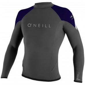 O'Neill Wetsuits HyperFreak 1.5mm Jacket - Graphite/Indica/Lunar