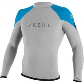 O'Neill Wetsuits HyperFreak 1.5mm Jacket - Lunar/Sky/Black