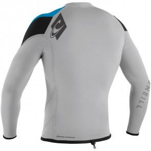 O'Neill Wetsuits HyperFreak 1.5mm Jacket - Lunar/Sky/Black