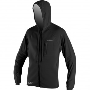 O'Neill Supertech 2mm Hooded Jacket - Black