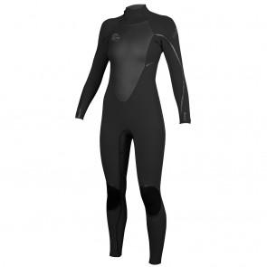 O'Neill Women's D-Lux 3/2 Wetsuit - Black