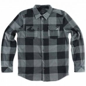O'Neill Superfleece Glacier Check Flannel - Grey