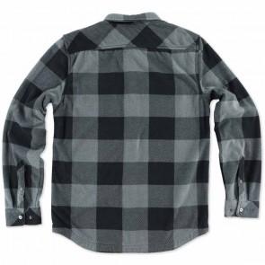O'Neill Superfleece Glacier Check Flannel - Grey