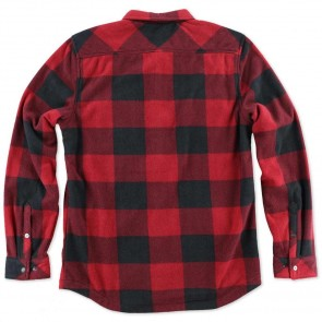 O'Neill Superfleece Glacier Check Flannel - Red