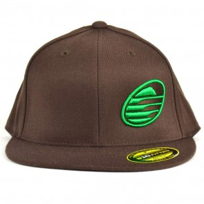 Cleanline Embroidered Rock Hat - Brown/Green