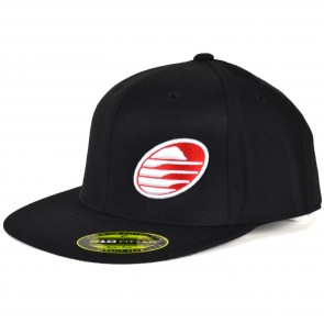 Cleanline Embroidered Rock Hat - Black/Red/White