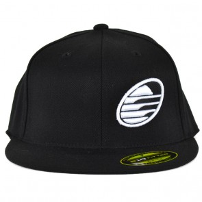 Cleanline Embroidered Rock Hat - Black/White