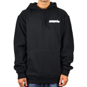 Cleanline Corp Logo/Big Rock Hoodie - Black/White