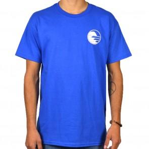 Cleanline Sunset Circle T-Shirt - Royal