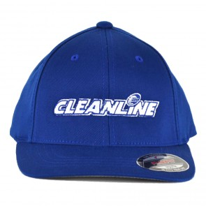 Cleanline Youth Corp Logo Hat - Royal/White