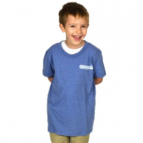 Cleanline Youth Big Rock T-Shirt - Blue