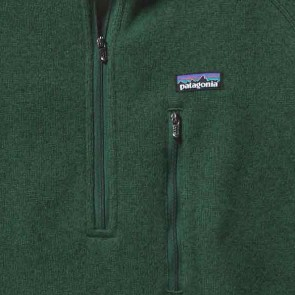 Patagonia Better Sweater 1/4 Zip Jacket - Malachite Green