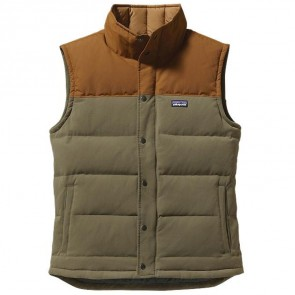 Patagonia Bivy Down Vest - Fatigue Green