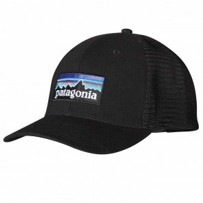 Patagonia P-6 Trucker Hat - Black