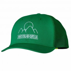 Patagonia Mountain Sea Doodle Trucker Hat - Tumble Green