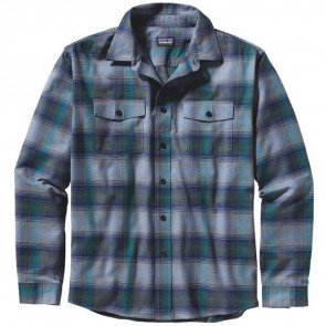 Patagonia Buckshot Long Sleeve Shirt - Triple Rainbow Glass Blue