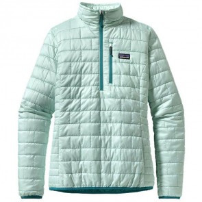 Patagonia Women's Nano Puff Pullover Jacket - Arctic Mint