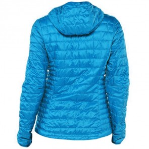 Patagonia Women's Nano Puff Hooded Jacket - Andes Blue