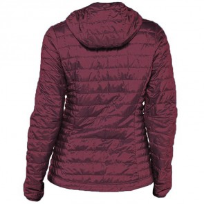 Patagonia Women's Nano Puff Hooded Jacket - Dark Currant