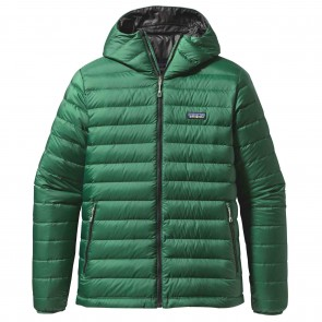 Patagonia Down Sweater Hoodie Jacket - Malachite Green