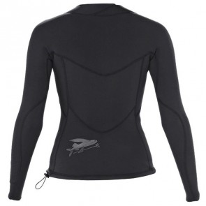 Patagonia Wetsuits Women's R1 Long Sleeve Top - Black