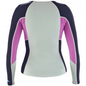 Patagonia Wetsuits Women's R1 Long Sleeve Top - Tailored Grey