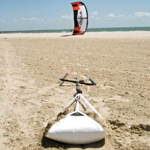 PKS Self-Launch Sand Anchor with Carabiner