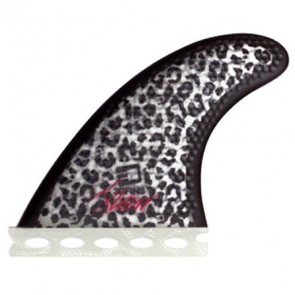 3D Fins - XDS Hex Core Tri 5.0 Full Base - Snow Leopard