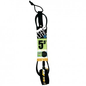 Pro-Lite Super Comp Leash  - 5.5' - Black