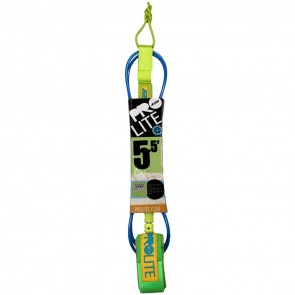 Pro-Lite Super Comp Leash  - 5.5' - Neon Blue