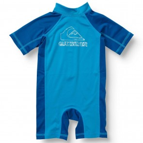 Quiksilver Wetsuits Toddler C-Thru Rash Guard Spring Suit - Blue