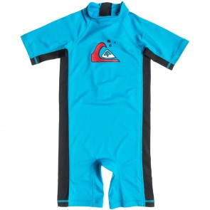 Quiksilver Wetsuits Toddler Shore Pound Spring Suit - Hawaiian Blue/Black