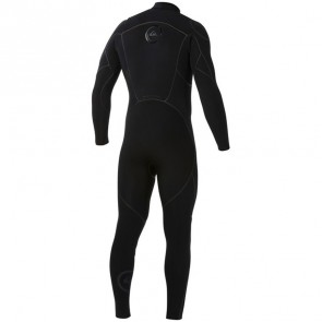 Quiksilver Cypher 3/2 Chest Zip Wetsuit - Black - LT