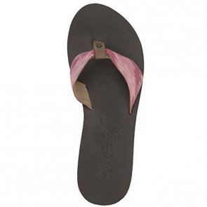 Reef Women's We Heart Scrunch Sandals - Brown/Pink