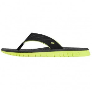 Reef Rodeoflip Sandals - Black/Lime Green