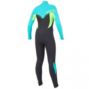 Rip Curl Women's Flash Bomb 3/2 Chest Zip Wetsuit