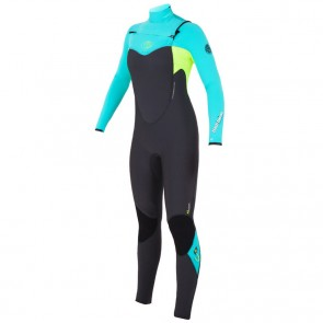 Rip Curl Women's Flash Bomb 4/3 Chest Zip Wetsuit - 2015