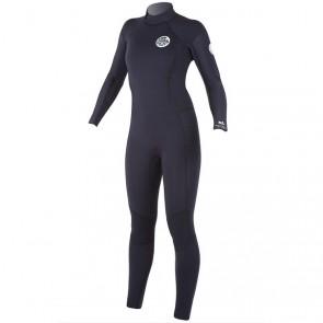 Rip Curl Women's Dawn Patrol 3/2 Wetsuit - Black