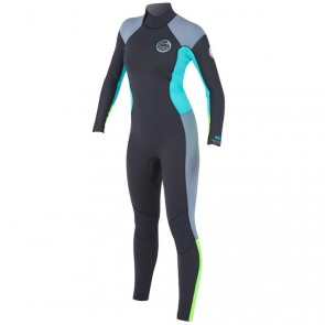 Rip Curl Women's Dawn Patrol 3/2 Back Zip Wetsuit