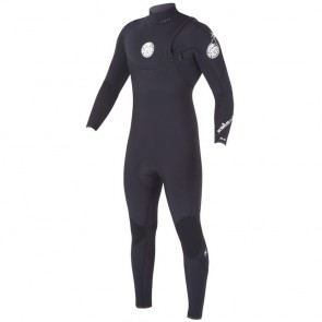 Rip Curl E-Bomb Pro 4/3 Zip Free Wetsuit - Black