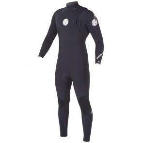 Rip Curl E-Bomb Pro 4/3 Zip Free Wetsuit - Black