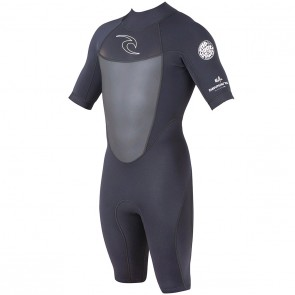 Rip Curl Dawn Patrol Short Sleeve Spring Wetsuit - Black
