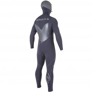Rip Curl Flash Bomb 5.5/4 Hooded Chest Zip Wetsuit